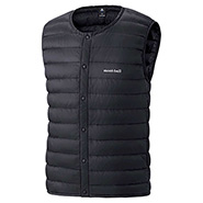 Superior Down Round Neck Vest Men's