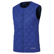 Superior Down Round Neck Vest Women's