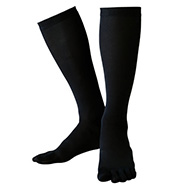 SUPPORTEC 5 Toe Under High Socks