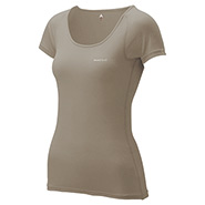 ZEO-LINE L.W. U Neck T-Shirt Women's