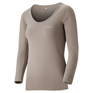 ZEO-LINE L.W. U Neck Shirt Women's
