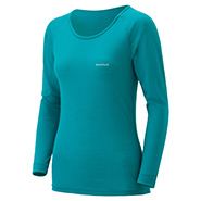 Super Merino Wool L.W. Round Neck Shirt Women's