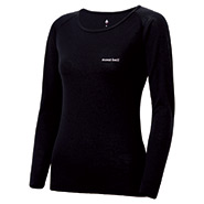 Super Merino Wool Middle Weight Round Neck Shirt Women's
