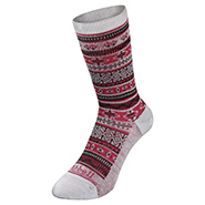 Merino Wool Jacquard Socks Women's