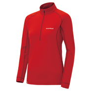 Merino Wool Plus Action Zip Neck Women's