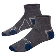 Merino Wool Supportec Travel Short Socks
