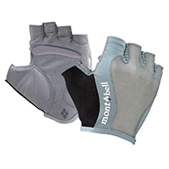 Stainless Mesh Cycle Fingerless Gloves