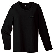 Pear Skin Cotton Long Sleeve T Women's